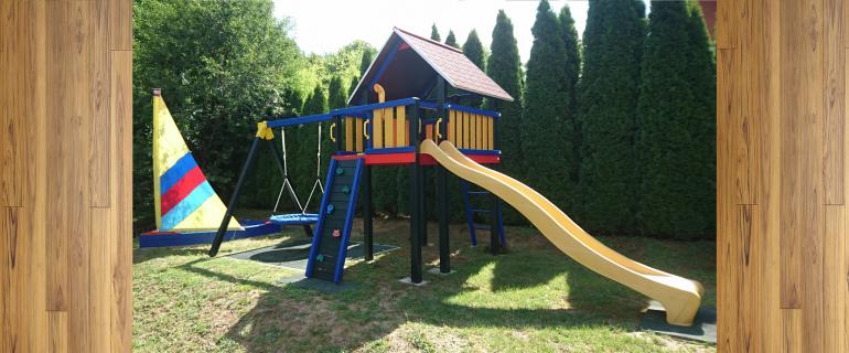 Biztonságos szórakozás a játszótéren