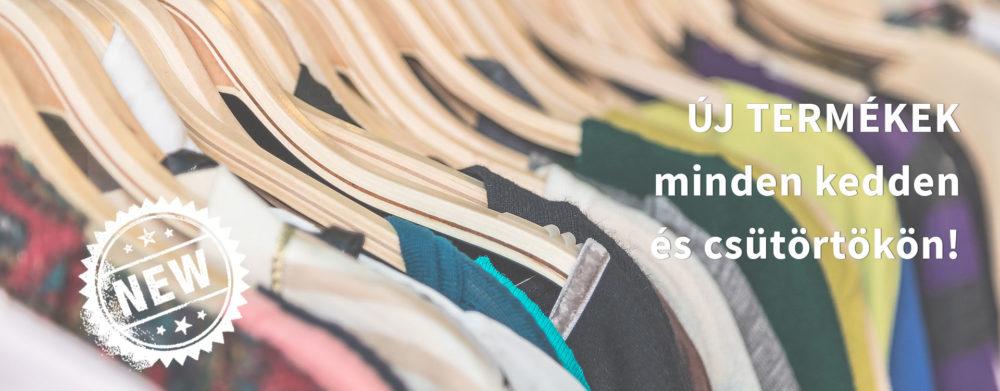 Vásároljon márkás ruhákat olcsón, online!