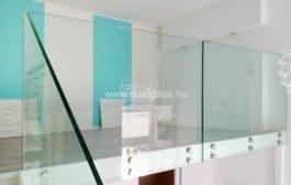 Üveg a modern belsőépítészetben