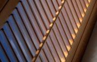 Nagy felületek árnyékolására is képes szalagfüggöny