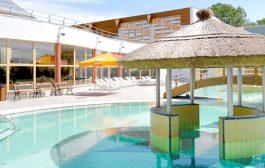 Mediterrán hangulatú fedett élményfürdő