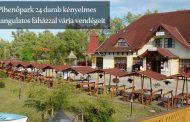 Pihenés a Tisza-tó partján