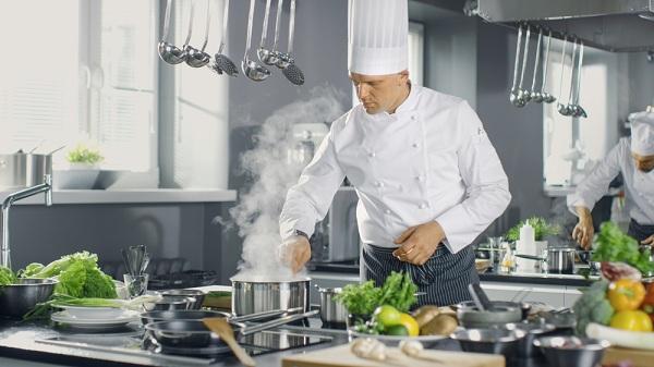 Produktív sütés-főzés éttermében
