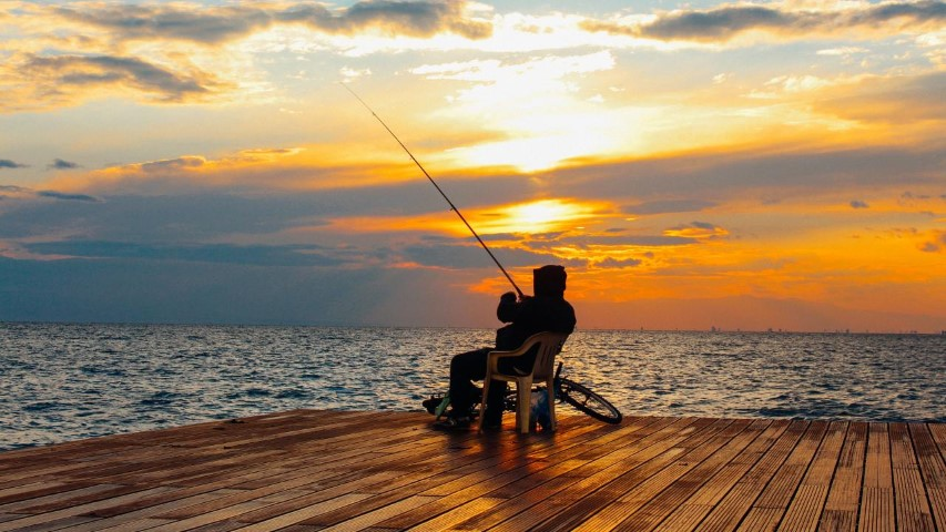 Az önfeledt horgászat kellékei
