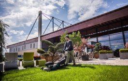 Kertek és parkok megvalósítása irodák és üzletek számára