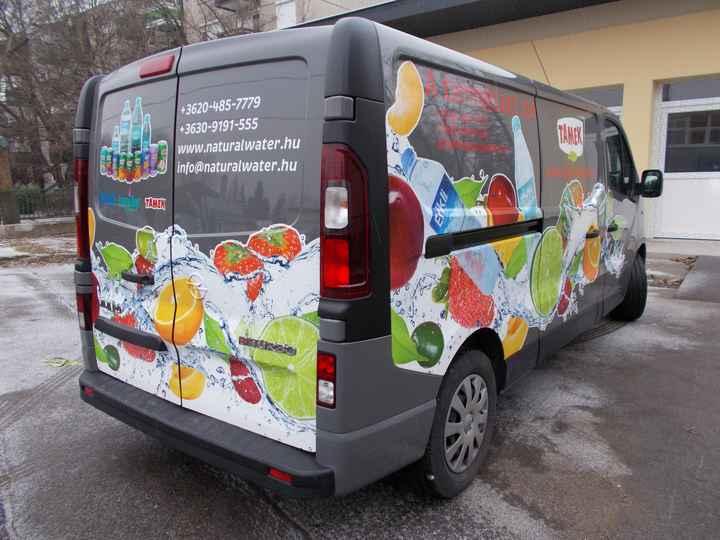 Autók, kamionok, teherautók dekorálása profikkal!