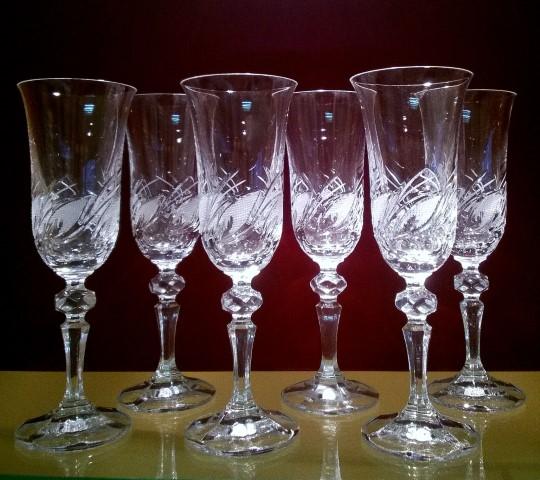 Ólomkristály termékek üveggravírozással