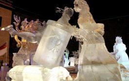 Teljesen egyedi jégszobor esküvőre