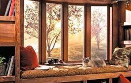 Esztétikus otthon faablakokkal