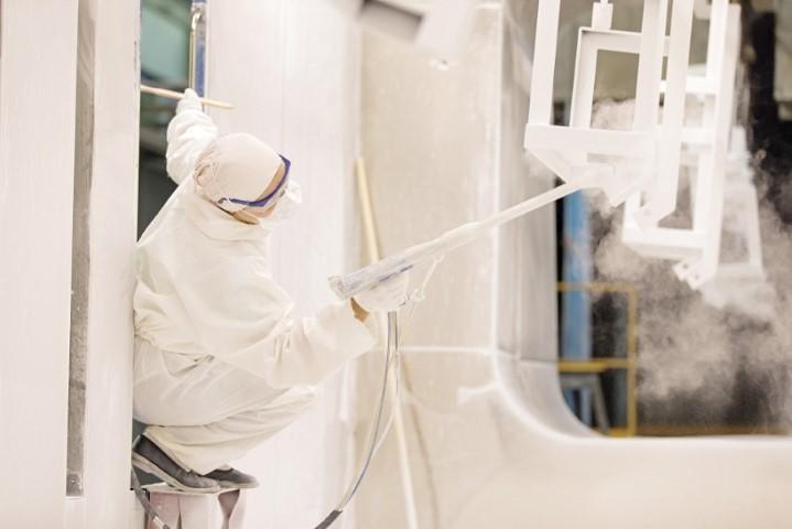 Az ipari festés berendezései